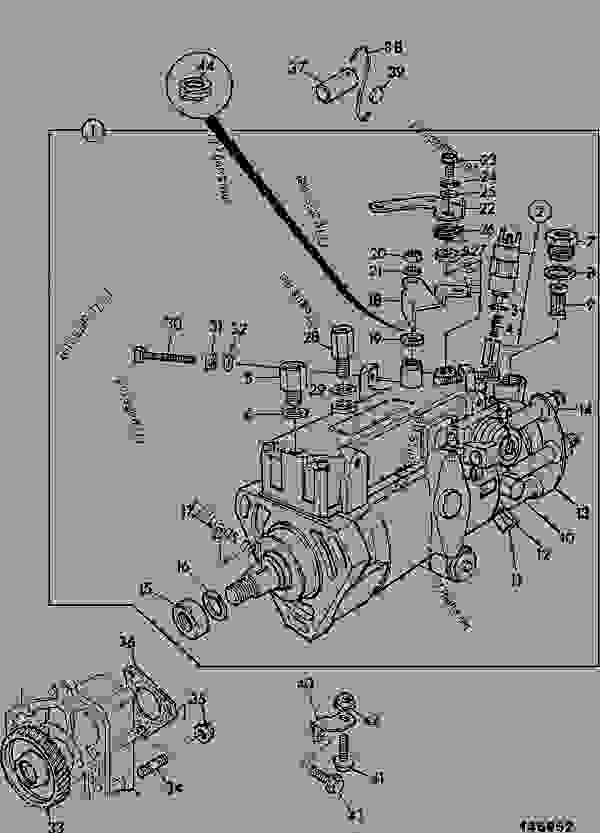 Parts scheme PUMP, FUEL INJECTION, YB BUILD - CONSTRUCTION JCB CONTRACTOR 150T - FASTRAC & CONTRACTOR, 9802/6600, M636001- ENGINES 1006-6 & 1006-6T SYSTEM, FUEL PUMP, FUEL INJECTION, YB BUILD | 777parts