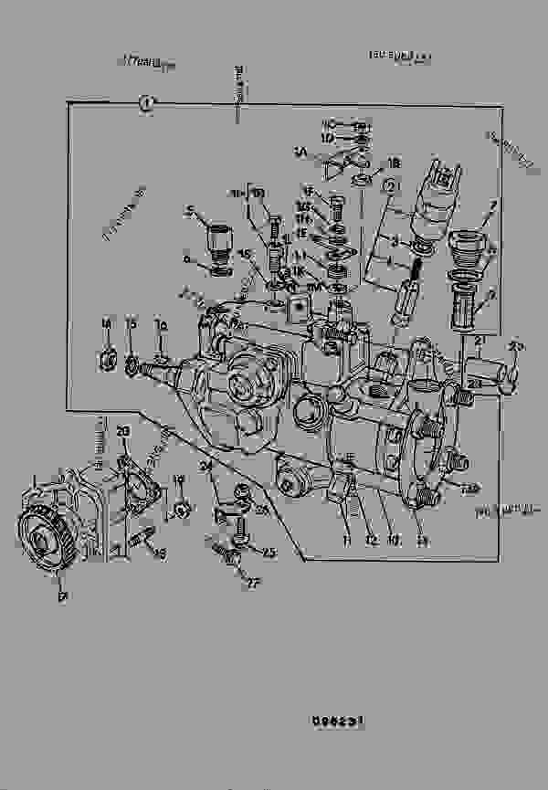 Parts scheme PUMP, FUEL INJECTION, AB BUILD - CONSTRUCTION JCB .3CX-4 France - REGULAR BACKHOE LOADER (WORLDWIDE), 9802/8550, M337001- ENGINES 1000 SERIES 4-4 & 4-4T FUEL SYSTEM PUMP, FUEL INJECTION, AB BUILD | 777parts