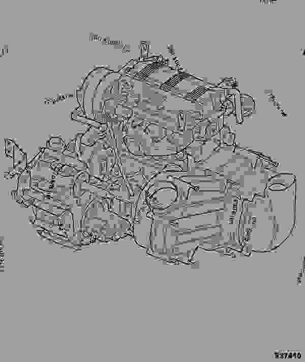 engine gearbox  assembly