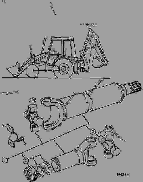34 Jcb Backhoe Parts Diagram