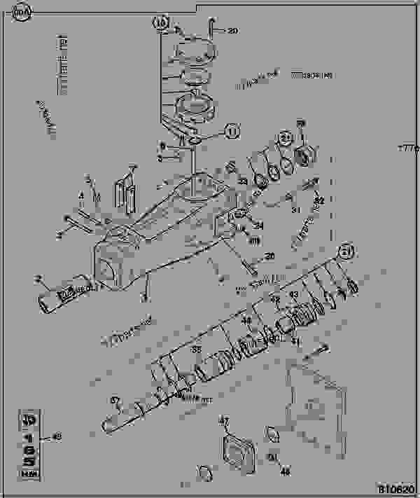 Parts scheme ROCKBREAKER, HM165Q, COMPONENTS - CONSTRUCTION JCB BREAKERS-BRH - HAMMERS, SWEEPERS, EARTH DRILLS, 9802/0060 ATTACHMENTS, L HAMMERMASTER ROCKBREAKER RANGE ROCKBREAKER, HM165Q, COMPONENTS | 777parts