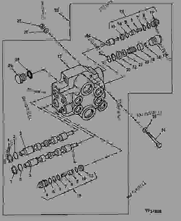 john deere 310d backhoe parts schematic