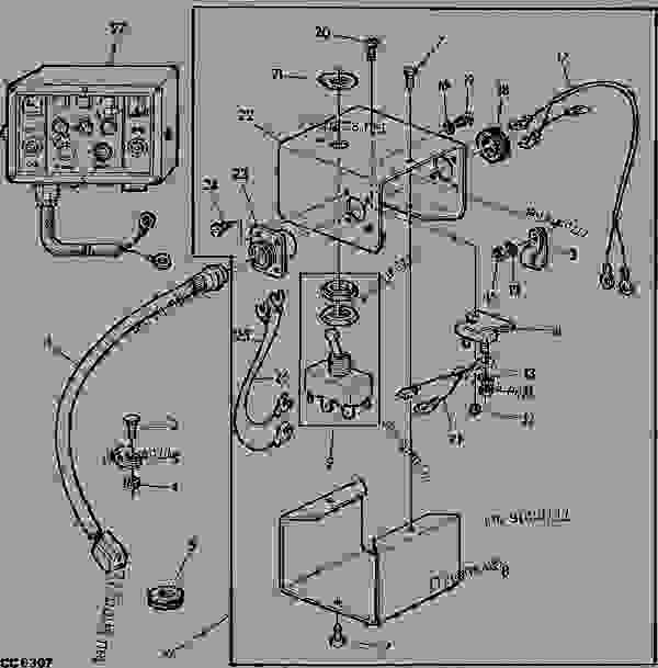 John Deere 4630 Engine Diagram on 24 volt scooter wire diagram