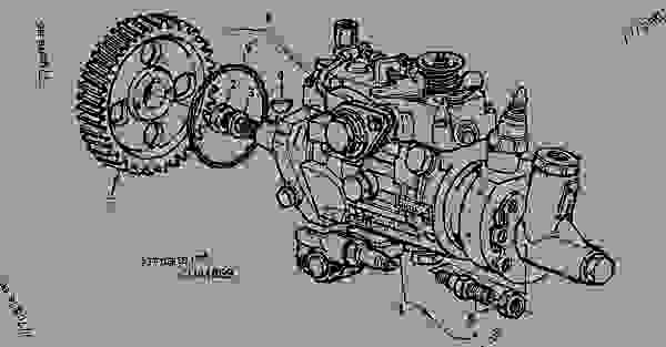 john deere fuel injection pump parts breakdown