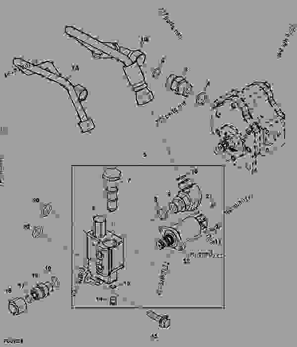 ford tractor front axle parts diagram