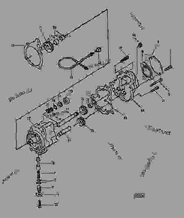 lubricating oil pump cummins engine john deere n14 cummins rh 777parts net M11 Cummins Engine Coolant Diagram Cummins Engine Fuel System Diagram
