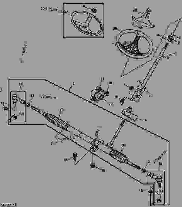 john deere gator 6x4 diagram parking brake