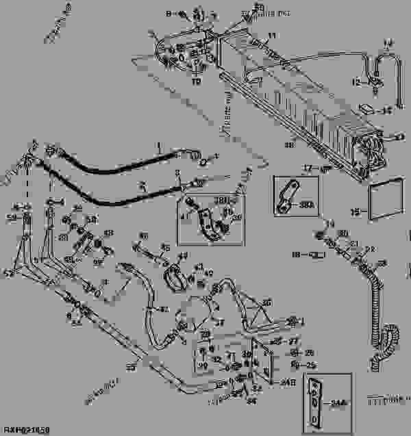 4230 4430 And 4630 Model Tractors Evaporator Rear Lines 02d14. List Of Spare Parts. John Deere. John Deere 4230 Parts Diagram Air Conditioning At Scoala.co
