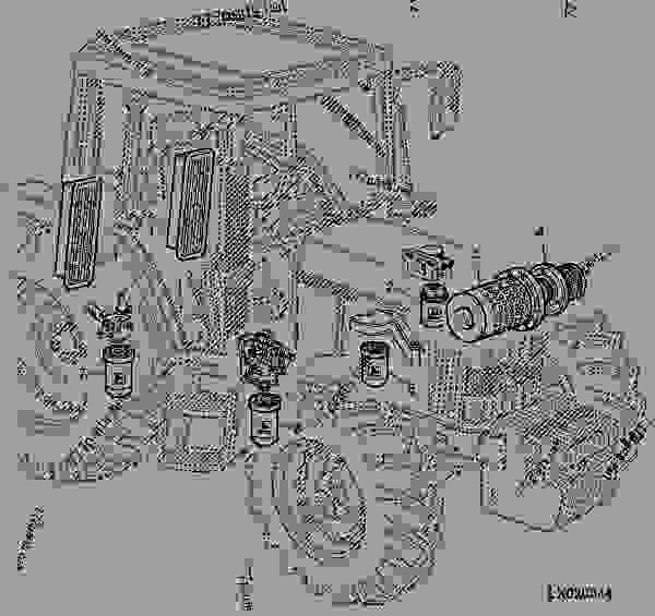 Parts scheme FILTERS - ENGINE, POWERTECH John Deere 5.9 L - ENGINE, POWERTECH - 6506, 6600 Tractors (European Edition) WHEELS, FRONT AXLES, SHEET METAL, MISCELLANEOUS FILTERS | 777parts