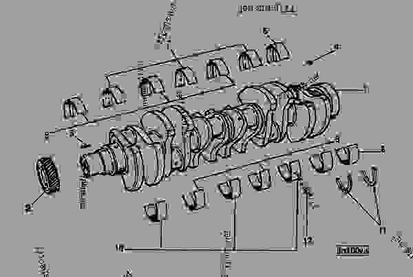 crankshaft cummins engine john deere n14 cummins engine rh 777parts net M11 Cummins Engine Coolant Diagram Cummins N14 Plus Engine Diagram