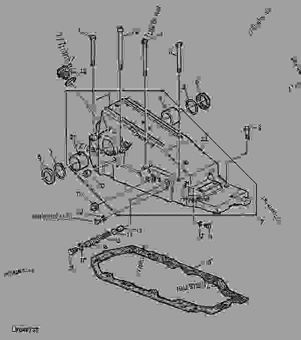 ford 2810 tractor parts diagram