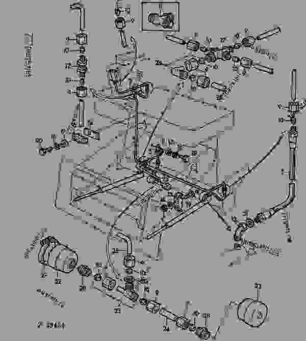 John Deere 4010 Wiring Diagram in addition 53m2z Change Hydraulic Oil John Deere 2440 Rear further 8ozlv Yes John Deere Rx75 Lawn Mower Will Not Start Start Switch Bad likewise 246576 How Wire Up   Gauge 216 A moreover John Deere 4240 Wiring Harness. on john deere 4020 hydraulic schematic