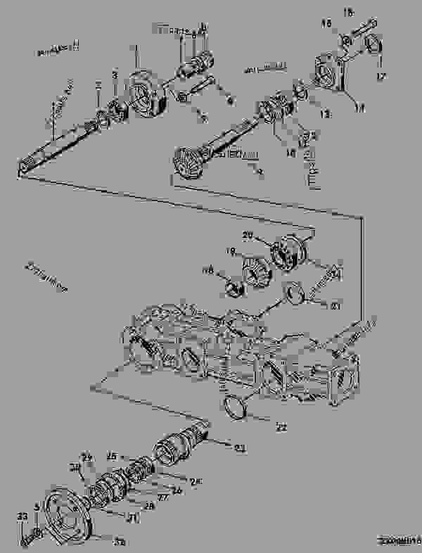 34 John Deere 445 Parts Diagram