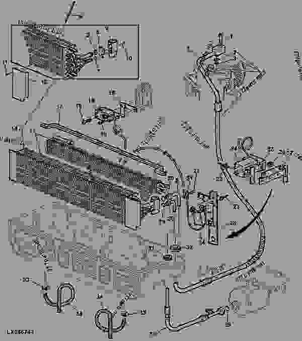 John Deere Loader Parts Diagram
