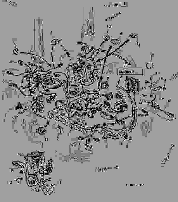 John Deere 1770 Planter Wiring Diagram : Re cap john deere spare part parts