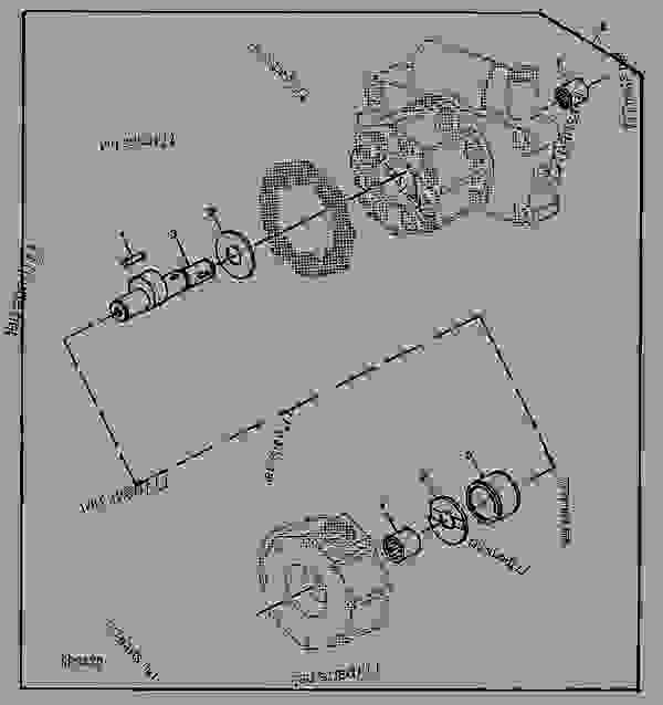 john deere 4020 parts diagram seat