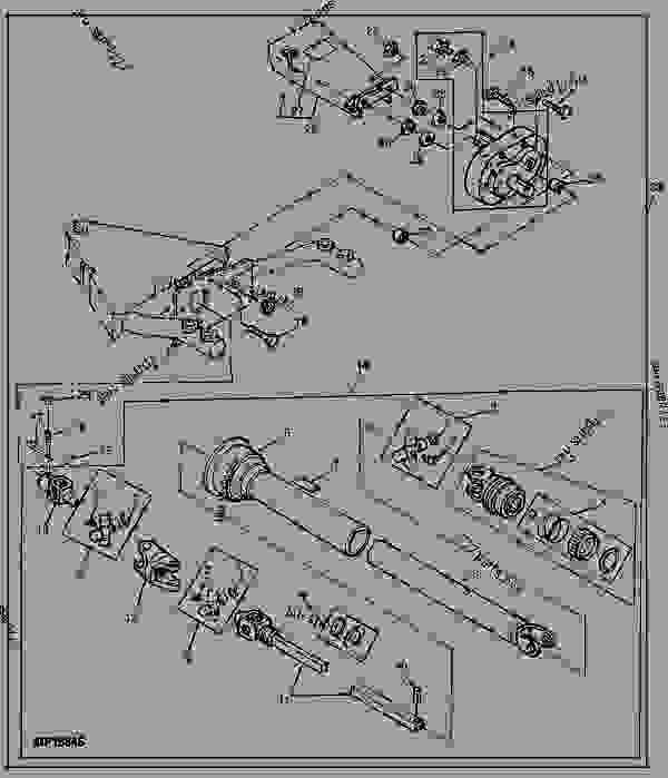 Wiring Diagram John Deere F935 : Front pto kit quick tatch c broom rotary john