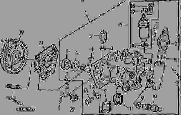 Cav Injector Pump Parts Diagram