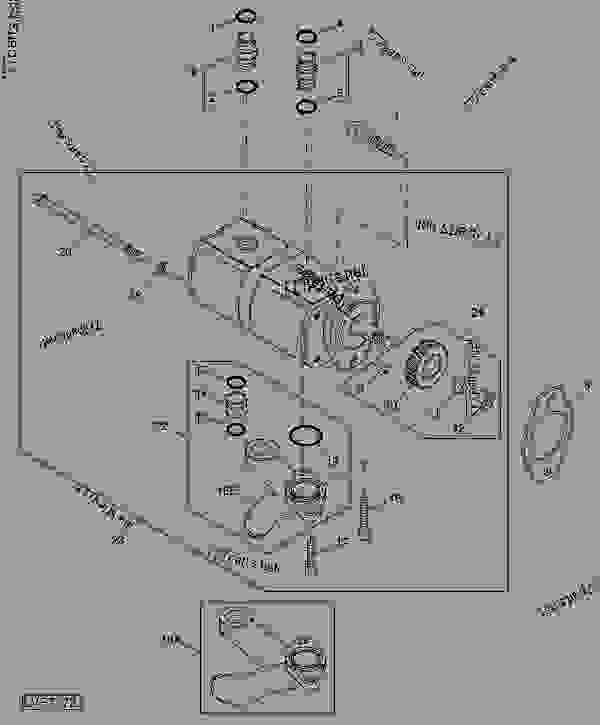 john deere 318 hydraulic system diagram in