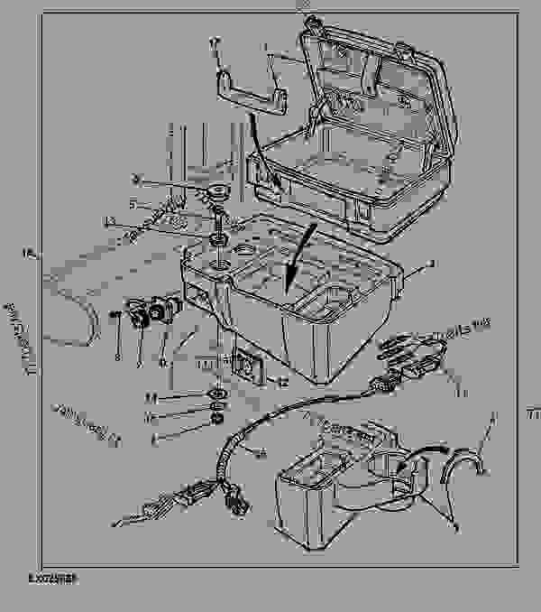 field office tractor john deere 6410 tractor 6110 6210 6310 rh 777parts net John Deere Electrical Diagrams john deere 6410 pto wiring diagram