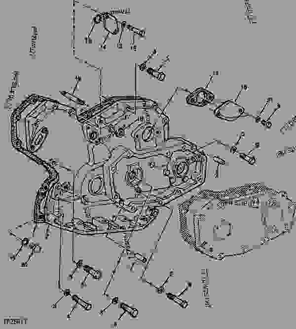 timing gear cover code 4408 timing gear cover with