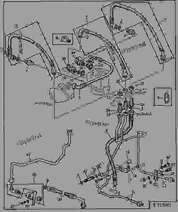 HYDROSTATIC STEERING - OIL LINES (SGB WITHOUT FWD) [14 ... on john deere 970 wiring diagram, john deere 2955 wiring diagram, john deere 435 wiring diagram, john deere 670 wiring diagram, john deere 655 wiring diagram, john deere 830 wiring diagram, john deere 7020 wiring diagram, john deere 4000 wiring diagram, john deere 80 wiring diagram, john deere 4040 wiring diagram, john deere 2350 wiring diagram, john deere 2750 wiring diagram, john deere 730 diesel wiring diagram, john deere 4450 wiring diagram, john deere 1250 wiring diagram, john deere 2630 wiring diagram, john deere 2150 wiring diagram, john deere 4850 wiring diagram, john deere 5410 wiring diagram, john deere 2440 wiring diagram,