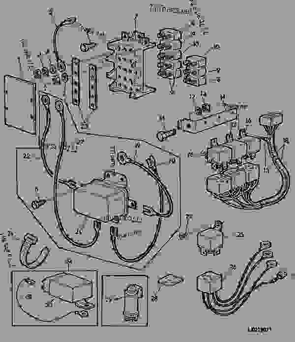 John Deere 180 Fc540v Kawasaki Engine Wiring Diagram in addition OMM145864 I111 additionally 8fbkh John Deere 240 Lawn Mower How Adjust Brakes moreover John Deere Stx38 Wiring Diagram moreover Rx75 John Deere Wont Move. on john deere 265 wiring diagram