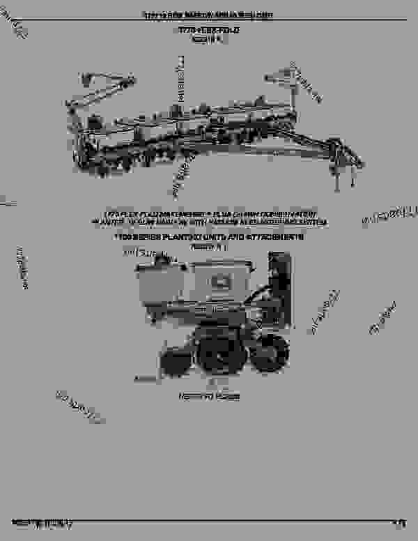 Parts scheme 1770 12-Row Narrow Planter and 60 Seed Cart: Introduction - CART, SEED John Deere 1770 - CART, SEED - 1770 12-Row Narrow Planter and 60 Seed Cart: Introduction | 777parts