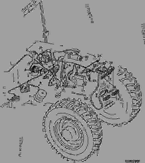 ford 7710 parts diagram
