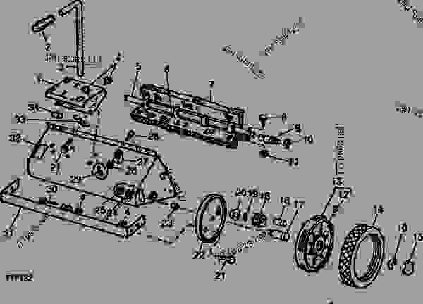 Lawn Sweeper Parts : Adjusting handle body brushes axle wheels and tires