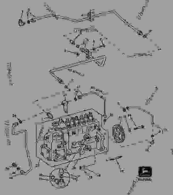 5020 john deere fuel pump diagram  5020  free engine image