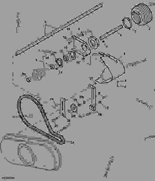 Parts scheme BACKSHAFT AND AUGER DRIVE (45,50,52.5,60,70,80,90) HADP - AHHC - CORN HEAD John Deere 608 - CORN HEAD - 600 Series Corn Heads (South American Edition) AUGER AND DRIVES BACKSHAFT AND AUGER DRIVE (45,50,52.5,60,70,80,90) HADP - AHHC | 777parts