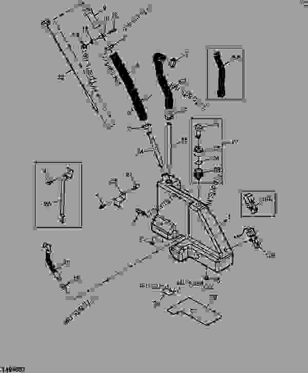 john deere 317 ignition diagram