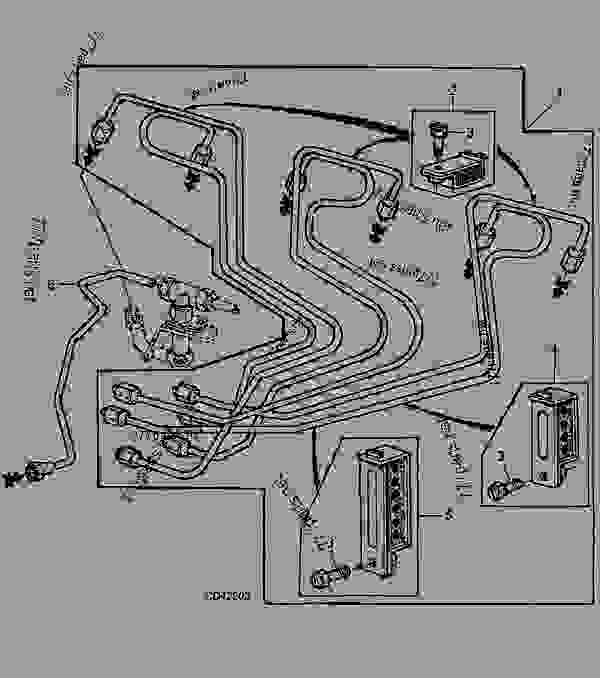 6059 john deere wire harness diagram