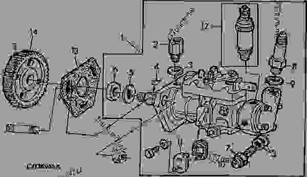lucas injector pump diagram
