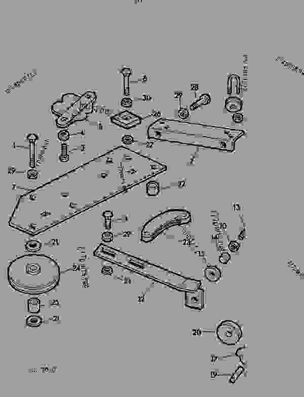 Parts scheme WIRE GUIDES [G15] - BALER John Deere 466AWS - BALER - 456A, 456AT, 456AWS,466A, 466AT, 466AWS Balers 130 TWINE BOX AND TWINE CUTTER WIRE GUIDES [G15] | 777parts