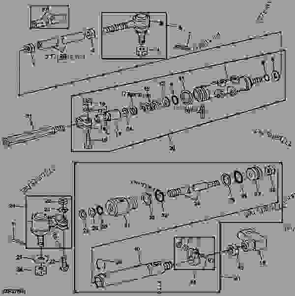 ford 4000 tractor carburetor diagram