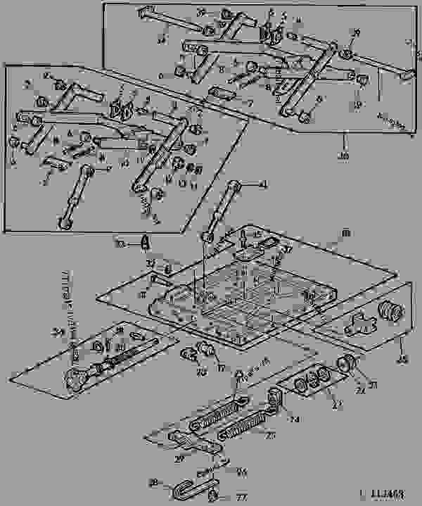 parts list for ford 800 tractor
