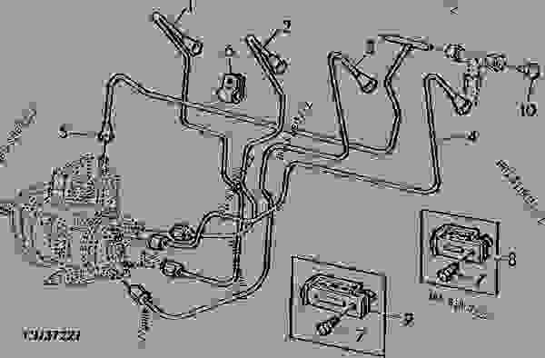 fuel lines for fip stanadyne