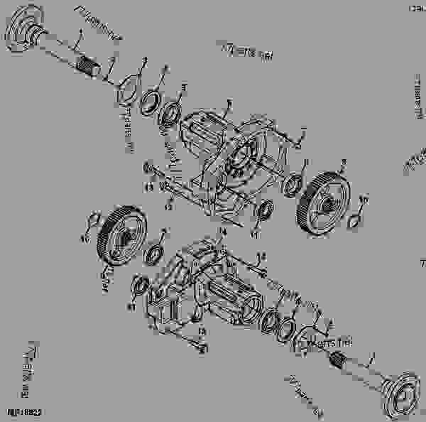 Viewit furthermore Deutz Allis D4006 Tractor Wiring Diagram Service Manual Htde Swiring as well Hardy 20Spicer 20Propshaft as well Transaxl also Front Axle Suspension Freightliner Mt35. on john deere bearings