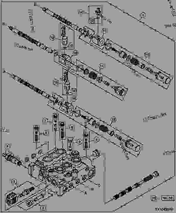 S692239 on john deere 318 hydraulic schematic