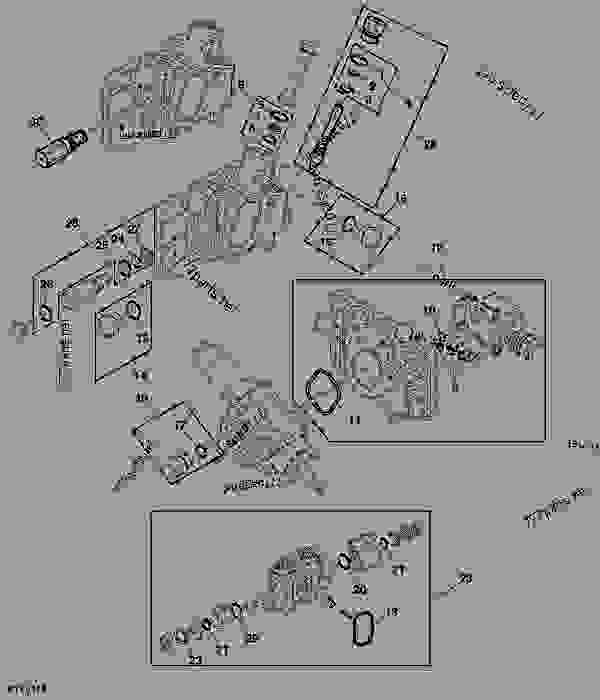0001019511____________a1 rockshaft control valve kits tractor john deere 5103 tractor john deere 5203 fuse box diagram at edmiracle.co