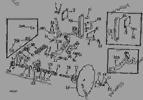 Parts scheme CUSHION DISK COULTERS (1969-    ) [C14] - PLOW, MOLDBOARD (SEMI-INTEGRAL) John Deere F145H - PLOW, MOLDBOARD (SEMI-INTEGRAL) - F135A, F135H, F145A and F145H Semi-Integral Moldboard Plows CUSHION DISK COULTERS (1969-    ) [C14] | 777parts