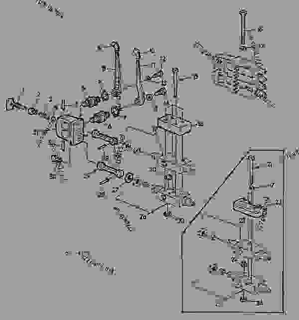 Parts scheme SELECTIVE CONTROL VALVE [02B17] - TRACTOR John Deere 3135 - TRACTOR - 3135 (50000-) Tractor 70 HYDRAULIC SYSTEM SELECTIVE CONTROL VALVE [02B17] | 777parts