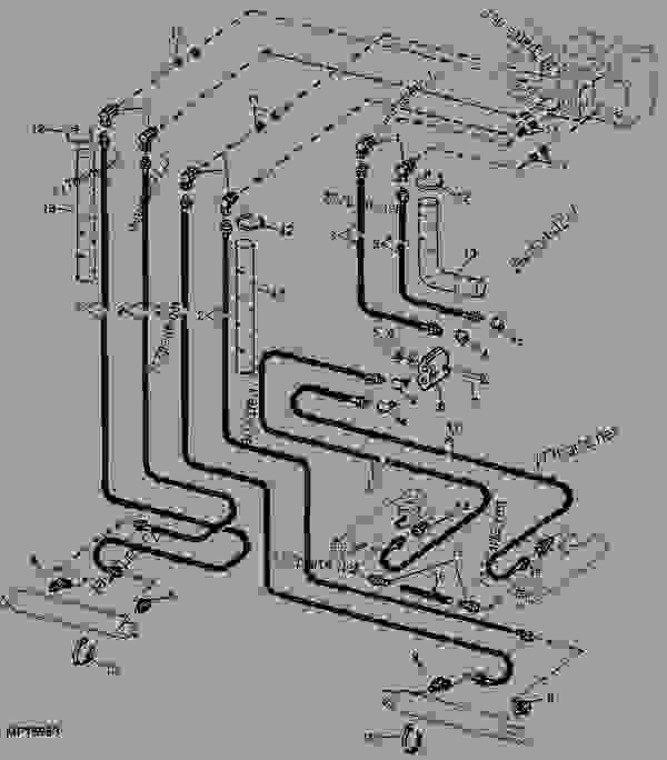 john deere backhoe hydraulics diagram