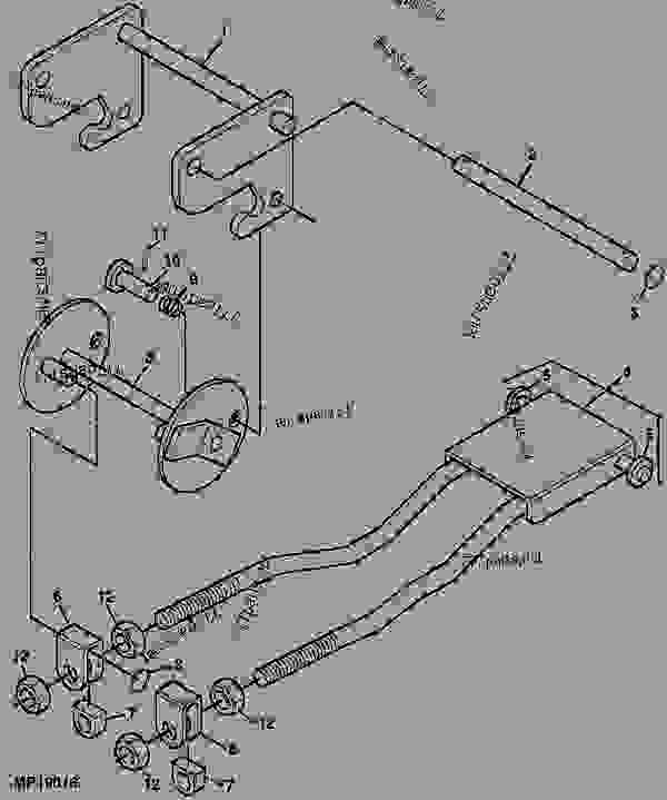 john deere 62c mower deck parts list