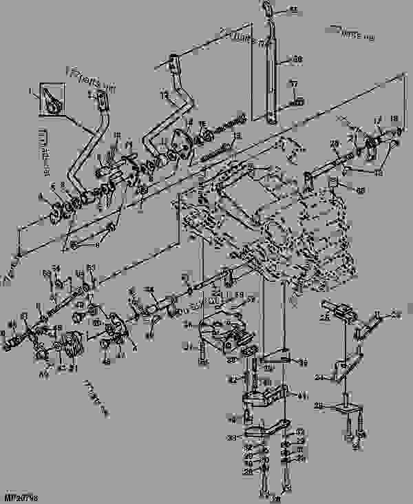 control valve ford 4000 tractor parts diagrams
