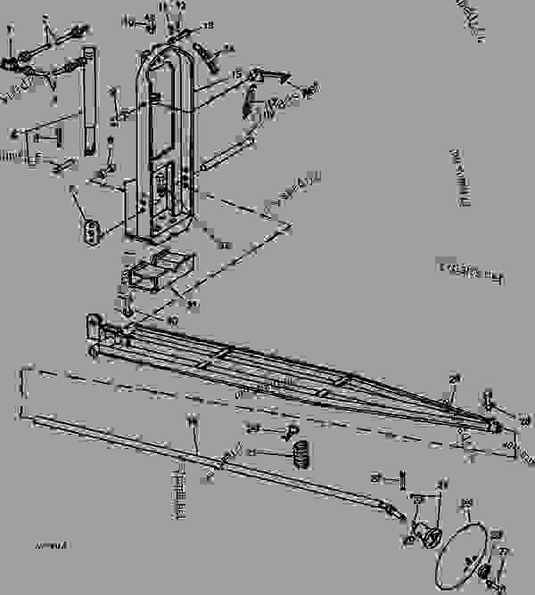 Parts scheme STRAIGHT HYDRAULIC MARKER (    -1969) [A09] - HYDRAULIC MARKER John Deere HYDRAULIC MARKER - HYDRAULIC MARKER - Hydraulic Marker STRAIGHT HYDRAULIC MARKER (    -1969) [A09] | 777parts