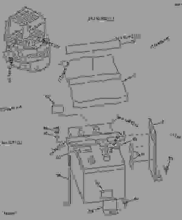 battery and mounting hardware