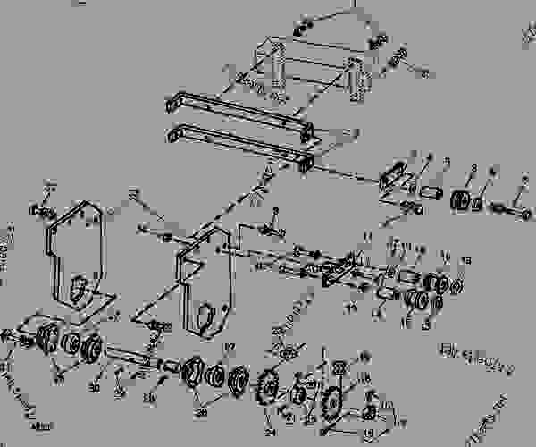 John Deere 7000 Planter Parts Diagram